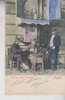 NAPOLI  CIABATTINO RATTOPPA SCARPE  COSTUMI 1901  VG - Napoli (Napels)
