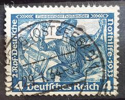 """Deutsches Reich 1933, Mi 500B Gestempelt """"Wagner"""" - Gebruikt"""