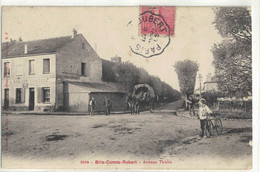 CPA   BRIE COMTE - ROBERT    Avenue Thiers  N° 5649 - Brie Comte Robert