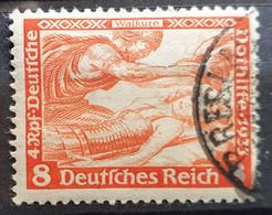 """Deutsches Reich 1933, Mi 503B Gestempelt """"Wagner"""" - Used Stamps"""