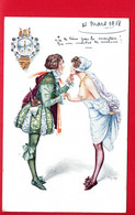 HEROUARD - Au Temps De La Belle Gabrielle - The Happy Hour - 2706 - Altre Illustrazioni