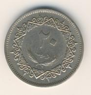 LIBYA 1979: 20 Dirhams, KM 21 - Libya