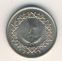 LIBYA 1975: 10 Dirhams, KM 14 - Libya