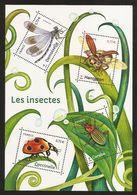 2017 - Bloc Feuillet F 5148 INSECTES DE NOS JARDINS NEUF** LUXE MNH - Mint/Hinged