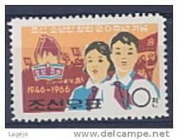 COREE NORD 0661 Pionniers - Korea (Noord)