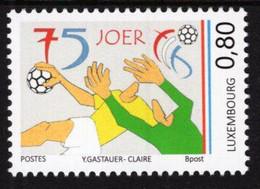 Luxembourg - 2021 - 75 Years Of Luxembourg Handball Federation - Mint Stamp - Ongebruikt
