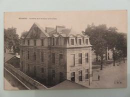Carte Postale Ancienne ,vintage, Noir Et Blanc  , RENNES Caserne Arsenal - Barracks