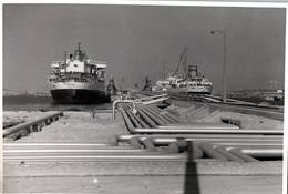 13 / MARSEILLE /  PHOTO PORT DE MARSEILLE  / BASSIN DES PETROLIERS  / BUTMAH / PRESIDENT MENY / LE HAVRE PHOTO CCM /1958 - Joliette, Havenzone