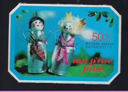 """étiquette Fromage Ma P'tite Folie 50%mg """" Bidons De Lait, Homme, Femme"""" - Cheese"""