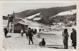 38  Villard De Lans  - Vercors - Remonte Pente Au Champ De Ski Des Bains - Villard-de-Lans
