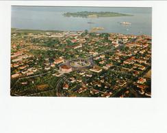 PORTUGAL - GUINÉ  [ 007 ] - VISTA AEREA PARCIAL E ILHEU DO REI - BISSAU - Guinea-Bissau