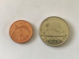 Malawi - 2 Tambala 1995 - 20 Tambala 1996 - Malawi