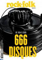 ROCK & FOLK 39 H DE 1954 A 2020 666 DISQUES - Muziek