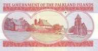 FALKLAND ISLANDS P. 17a 5 P 2005 UNC - Falkland Islands