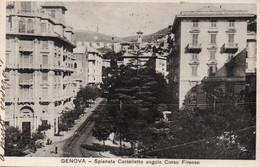 GENOVA - SPIANATA CASTELLETTO ANGOLO CORSO FIRENZE - VIAGGIATA - Genova (Genoa)