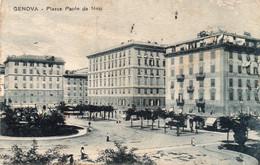 GENOVA - PIAZZA PAOLO DA NOVI- VIAGGIATA - Genova (Genoa)