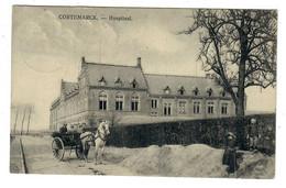 Cortemarck  Kortemark   Hospitaal   ATTELAGE  CHEVAL   FELDPOST - Kortemark