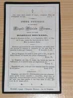Léopold Crousse / Houtain-le-Val 1796 - 1867 - Overlijden
