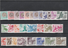 LOT 626 FRANCE PREOBLITERES N° 138 à 165 ** - 1964-1988