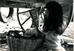 PH 149 / PHOTO ORIGINALE  CINEMA FILM  KRISS  ROMANI  ACTRICE CATHERINE ROUVEL (UNIVERS DES GITANS ) - Famous People