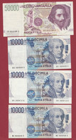 Italie  14 Billets Dans L 'état - Unclassified