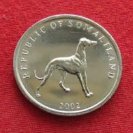 Somaliland 20 Shilling 2002 Dog Somalilandia Wºº - Somalia