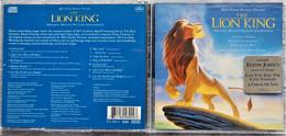 "CD ""The Lion King""  -  Original Motion Picture Soundtrack - Musica Di Film"