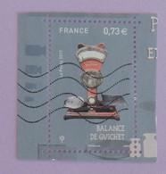 """FRANCE YT 5193 OBLITÉRÉ """"BALANCE DE GUICHET"""" ANNÉE 2017 - Used Stamps"""