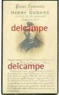 Oorlog - Gesneuveld- Henry Oudard - 1e Lanciers - Gesneuveld In De Slag Te Zamel 1914 - Devotieprenten