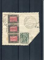 63066 Libia,frammento,cut Of Cover With The Ordinary Postmark,annullo Ordinario, Garibaldi Misurata(libia)4.7.1942 - Libia