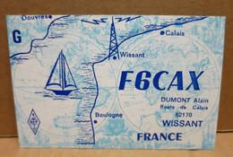 WISSANT (62) Carte Postale Illustrée Radio Amateur - Wissant
