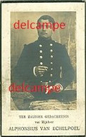 Oorlog - Gesneuveld- Alphonsius Van Echelpoel - Gheel Gesneuveld Aan De Yzer 1914 - Devotion Images
