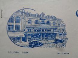 FACTURE - 62 - DEPARTEMENT DU PAS DE CALAIS - BOULOGNE/MER 1932 - GRAND CAFE DE BOULOGNE - Non Classés