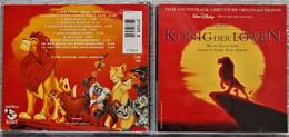 """CD """"Der König Der Löwen""""  -  Film Soundtrack  -  Deutsche Originalversion - Musica Di Film"""