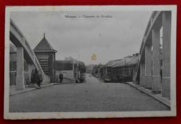 CPA  1938 Manage - Chaussée De Nivelles - Manage