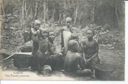 GABON - UNE FAMILLE PAHOUINE  (  Animées ) GABON - Gabon