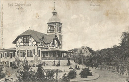 "2 191 Ak Bad Liebenwerda Bahnpost ""WITTENBERG-KOHLFURT"" 1906 - Covers & Documents"
