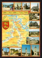 Carte Géographique : Vallée De L'Iton- Croix St-Leufroy, Mantes, Vernon, Louviers, Les Andelys, Anet, Damville, Evreux - Carte Geografiche
