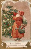 MOKA LEROUX - 8 - NON VIAGGIATA - Cartolina Francese - Werbepostkarten
