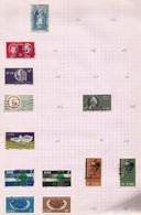 Irlande N°169 à 174 Cote 12.75 Euros (150, 153, 157, 161, 163, 165 Offerts) - Usati