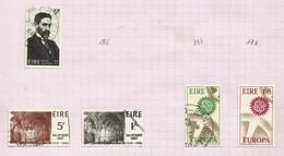 Irlande N°185, 189 à 192 Cote 4 Euros - Usati
