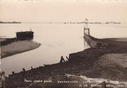 14. COURSEULLES SUR MER. L'EMBOUCHURE DE LA SEULLES ET LES BATEAUX BRISE LAMES - Courseulles-sur-Mer