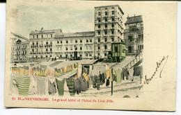 CPA - Carte Postale - Belgique - Blankenberghe - Le Grand Hôtel Et L'Hôtel Du Lion D'Or (AT16373) - Blankenberge