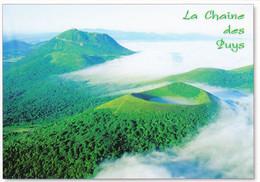 63 La Chaîne Des Puys Le Puy De Pariou Le Puy De Dôme (Carte écrite) - Unclassified