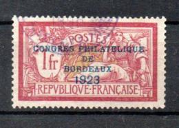 R-12 France Oblitéré N° 182 GARANTI AUTHENTIQUE à 10 % De La Côte  !!! - 1900-27 Merson