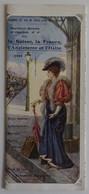 Chemins De Fer PLM SIMPLON-EXPRESS Milan Venise 1909 Dépliant Cartes Horaires Et Illustrations Couleurs PARFAIT ETAT - Spoorweg