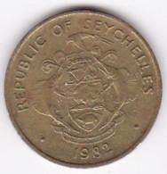Seychelles 10 Cents 1982 En Laiton KM 48 - Seychelles