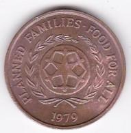 Tonga  2 Seniti 1979 , En Bronze , KM# 43 - Tonga