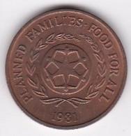 Tonga  2 Seniti 1981 , En Bronze , KM# 67 - Tonga