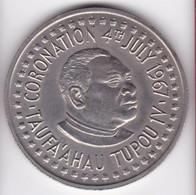 Tonga. 2 Pa'anga 1967  Taufa'ahau Tupou IV, Cupronickel , KM# 19 - Tonga